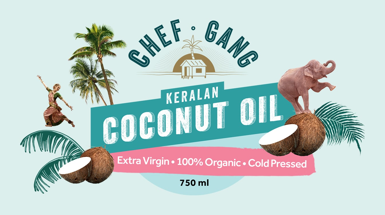 Chef Gang - Coconut Oil