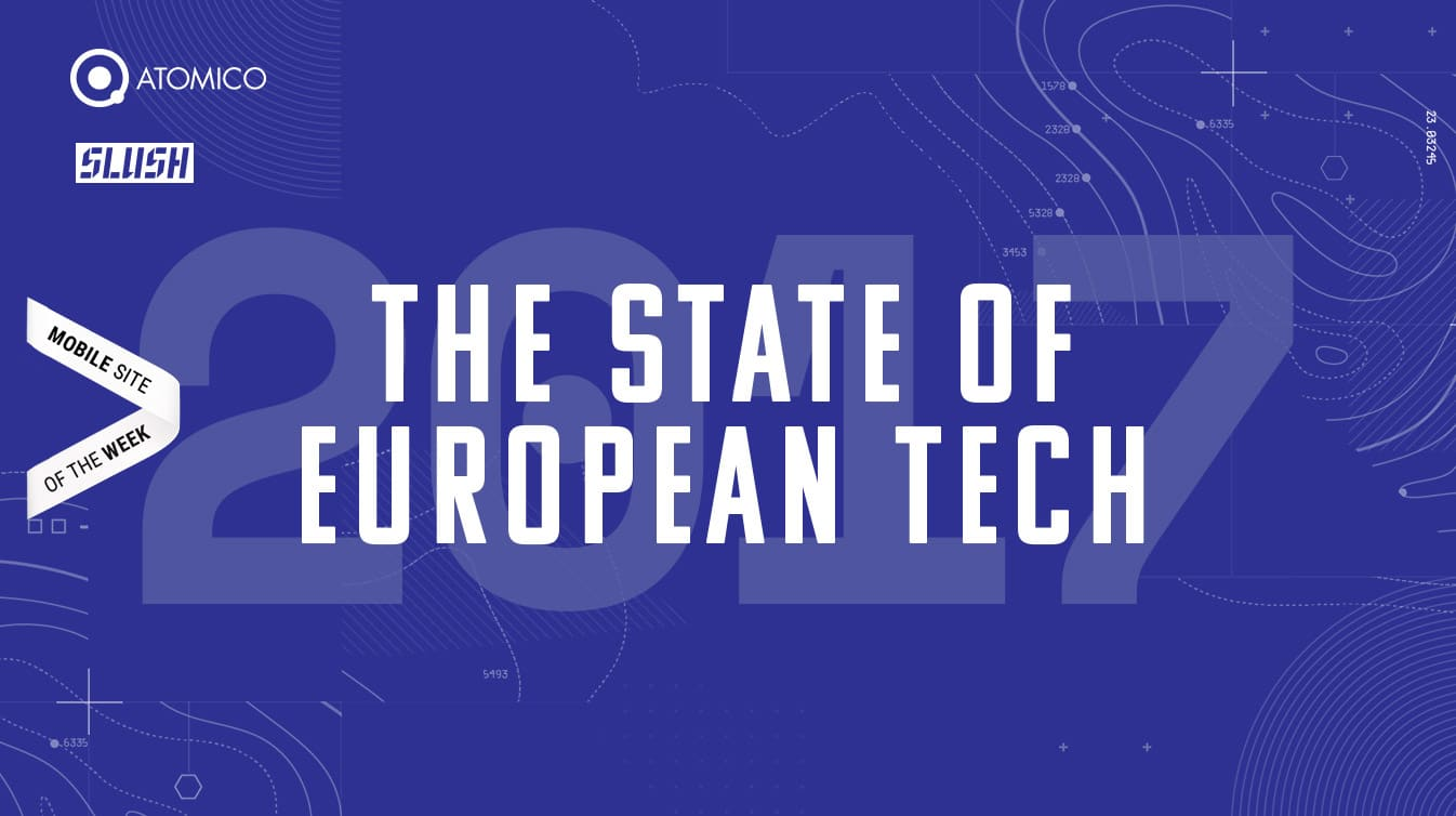 Atomico - The State of European Tech Website